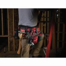 Milwaukee 48-22-8110 Breathable Electrician's Work Belt, 29 Pockets, Denier Nylon, Red/Black