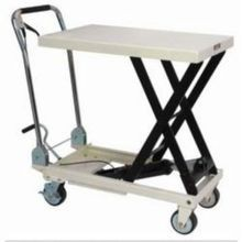 JET 140779 Scissor Lift Table, 1650 lb Load, 39-3/8 in L x 20-1/8 in W, 16 in Lowered, 38-5/8 in Raised