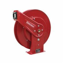 Reelcraft 7800 OLP 7000 Heavy Duty Low Pressure Hose Reel, 1/2 in ID x 3/4 in OD x 50 ft L Hose, 500 psi, 19-3/4 in Dia x 3-7/8 in W Reel, Domestic