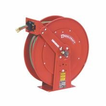 Reelcraft TW84100 OLPT TW Series Spring Retractable Gas Welding Hose Reel, 1/4 in ID x 100 ft L Hose, 9/16-18 Female Hose Outlet, 150 deg F, 200 psi