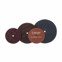 Walter QUICK-STEP BLENDEX 07-R 603 Non-Woven Surface Conditioning Disc, 6 in Dia, Medium, Hook and Loop