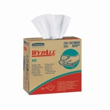WypAll* 34790 X60 High Tech Disposable Wiper, Hydroknit*, White