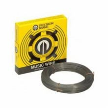 Precision Brand 21222 Solid Music Wire, #9 Wire, 0.022 in Dia x 774 ft L, High Carbon Steel Alloy