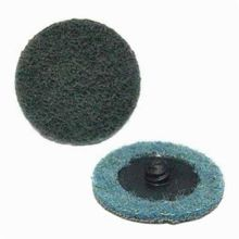 ARC Z-WEB 59363 Quick-Lok Non-Woven Surface Conditioning Disc, 3 in Dia, Very Fine, Aluminum Oxide Abrasive, Type TS