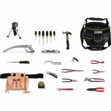 Proto JTS-0025ELEC SAE Electrician's Tool Set, Bag Tool Storage, 25 Pieces
