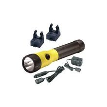 PolyStinger PolyStinger Hand Held Flashlight, LED Bulb, 385 (High), 195 (Medium), 95 (Low) Lumens, Nylon Polymer
