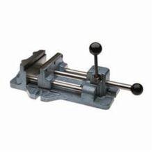 Wilton 13402 Cam Action Drill Press Vise, 18-15/16 in L x 6-5/16 in H, 6-3/16 in Jaw, 600 - 1200 lb, Cast Iron