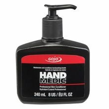 GOJO 8145-06 HAND MEDIC Professional Skin Conditioner, 8 fl-oz, Bottle, Lotion, Fragrance Free, Opaque/White