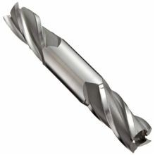 YG-1 E1051(4DRS) Double End Regular Length Square End Mill, 3/8 in, 3/4 in Max Depth of Cut, 4 Flutes, 3/8 in Shank