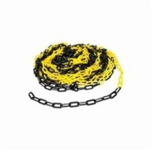 Brady BradyLink 37864 Warning Chain, 3 in W, 100 ft L, Black/Yellow, B-900 Polyethylene