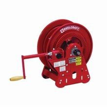 Reelcraft BA36112 LT BA30000 Dual Swivel Hose Reel, 1/4 in ID x 250 ft L Hose, 9/16-18 Male Hose Outlet, 150 deg F, 200 psi