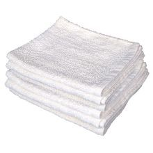Buffalo 10593 White Cotton Turkish (terry) Towel, 10lb Box