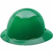Skullgard 475411 Hard Hat, Fits Hat 6-1/2 to 8 in Green Phenolic Fas-Trac III Ratchet Suspension, Class G