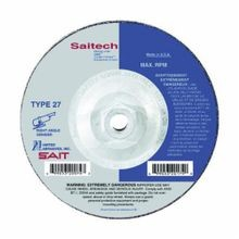 SAIT Saitech Ultimate Performance High Performance Depressed Center Wheel, 4-1/2 in Dia x 3/32 in THK, 5/8-11