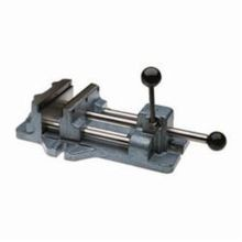 Wilton 13403 Cam Action Drill Press Vise, 21.1 in L x 7.2 in H, 8-3/16 in Jaw, 600 - 1200 lb, Cast Iron
