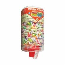 Moldex 6645 SparkPlugs PlugStation Uncorded Disposable Ear Plug, Universal, 33 dB, Tapered, Assorted