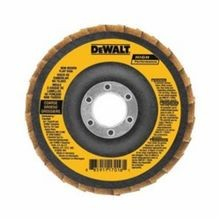 DeWALT DAAB7GCR05 High Performance Non-Woven Flap Disc, 4-1/2 in Dia, 7/8 in, Brown
