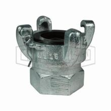 Dixon AM18 Air King 4-Lug Quick Acting Coupling, 1-1/4-11-1/2, FNPT, 150 psi, Iron, Domestic