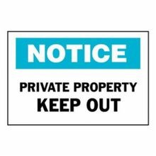 Brady 22168 Rectangular Admittance Sign, 10 in H x 14 in W, Black/Blue on White, Corner Hole Mount, B-401 Polystyrene