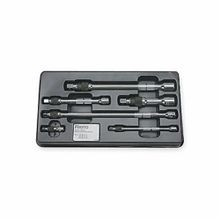 Proto J6000-6L Locking Socket Extension Set, Imperial, 6 Pieces, Full Polished
