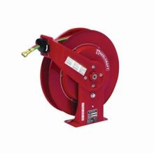 Reelcraft TW7460 OLP TW7000 Dual Swivel Hose Reel, 1/4 in ID x 60 ft L Hose, 9/16-18 Female Hose Outlet, 150 deg F, 200 psi