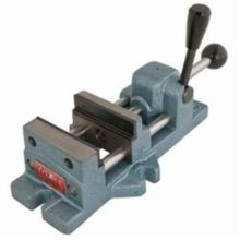 Wilton 13400 Cam Action Drill Press Vise, 11.9 in L x 3.6 in H, 3 in Jaw, 400 - 600 lb, Cast Iron