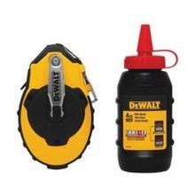 DeWALT DWHT47144 Chalk Reel Kit, Polymer Line, Sliding Door, Folding Crank Handle