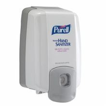 PURELL 2220-08 NXT MAXIMUM CAPACITY Push Style Dispenser, 2000 mL, Wall Mount, Plastic, Glossy