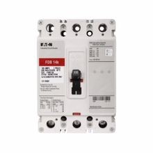 Eaton FDB3125LS02 Series C Molded Case Circuit Breaker; 600Volt, 125Amp, 3-Pole