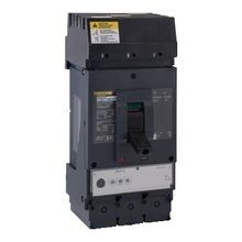 SQD LJA36400U31X PowerPact Molded Case Circuit Breaker; 600Volt, 400Amp, 3-Pole