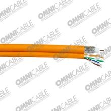 RG-6 Quad Shield Cable + CAT 5e Siamese Construction