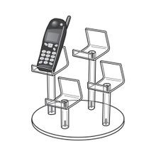 4 Cell Phone Mini Easel Display  9