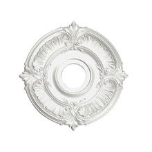 Focal Point | 18in Dia | Primed White Polyurethane | Decorative Ceiling Medallion