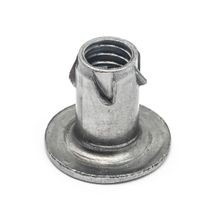 5/8in W | 1/4-20 Thread | Zinc Plated Hardened Steel | Propeller Nut