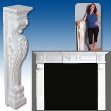 Polyurethane Mantel Headers and Legs