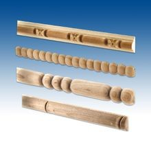 Beaded Wood Accent Mouldings
