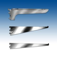 Steel and Wood Shelf Brackets