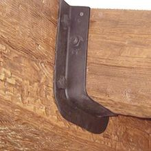 Flange Bracket for Old World Beam | Rustic Collection