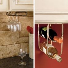 Wine Rack and Stemware