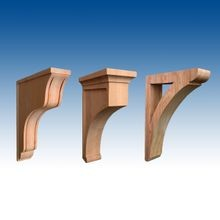 Wood Corbels and Brackets