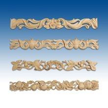 Carved Pieced  Wood Accent Mouldings