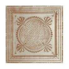2' Square Old Lace Lay In Premium Decorative Stamped Steel Ceiling Panel