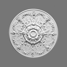 Orac Decor | High Density Polyurethane Ceiling Medallion | Primed White | 37-1/2in Dia