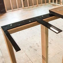 Floating Steel Vanity Countertop Support Brackets
