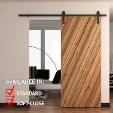 Sliding Barn Door Hardware Kits for Single Wood Doors