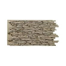 Standard Interlocking Stacked Stone Faux Panel