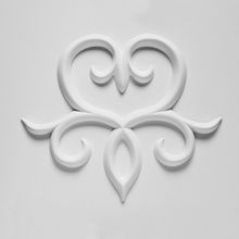 Orac Decor | High Density Polyurathane | 3D Decorative Element | Wall-Enhancing Element | Primed White | 13-3/4in H x 16-5/8in W