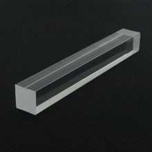 1in Square | Clear Acrylic Bar | 6ft Length