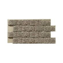 4' High x 2' Wide Garden Stone High Density Polyurethane Interlocking Faux Stone Panel