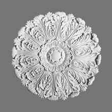 Orac Decor | High Density Polyurethane Ceiling Medallion | Primed White | 29-1/2in Dia